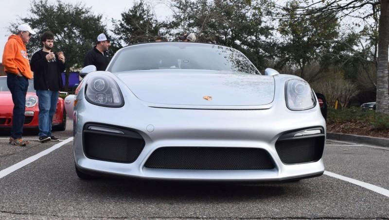 2016 Porsche Boxster SPYDER Silver 19