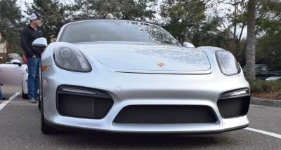 2016 Porsche Boxster SPYDER Silver 22