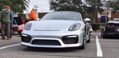 2016 Porsche Boxster SPYDER Silver 25