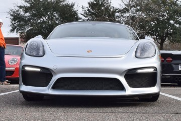 2016 Porsche Boxster SPYDER - First USA Photos! 100-Shot Animated Flyaround