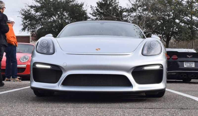 2016 Porsche Boxster SPYDER Silver 27