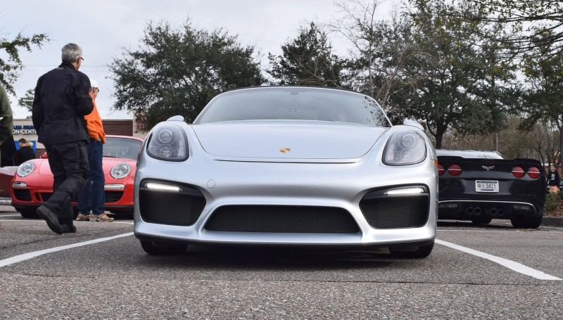 2016 Porsche Boxster SPYDER Silver 28