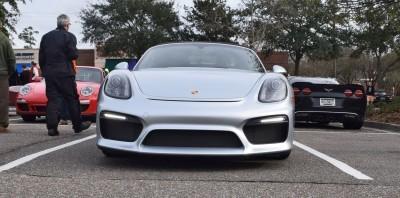 2016 Porsche Boxster SPYDER Silver 29