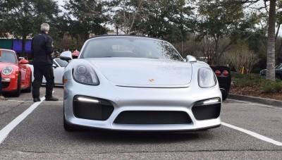 2016 Porsche Boxster SPYDER Silver 34