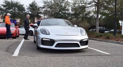 2016 Porsche Boxster SPYDER Silver 36