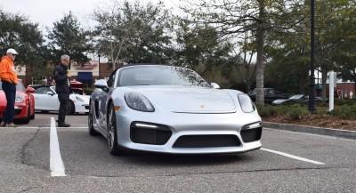 2016 Porsche Boxster SPYDER Silver 39