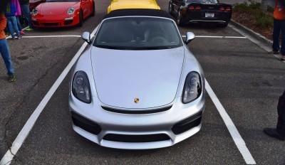 2016 Porsche Boxster SPYDER Silver 51