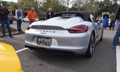 2016 Porsche Boxster SPYDER Silver 53