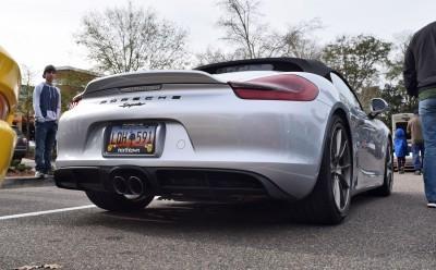 2016 Porsche Boxster SPYDER Silver 57