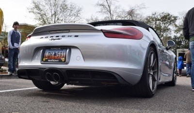 2016 Porsche Boxster SPYDER Silver 58
