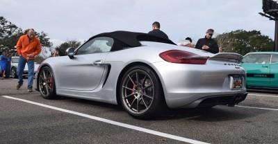 2016 Porsche Boxster SPYDER Silver 59