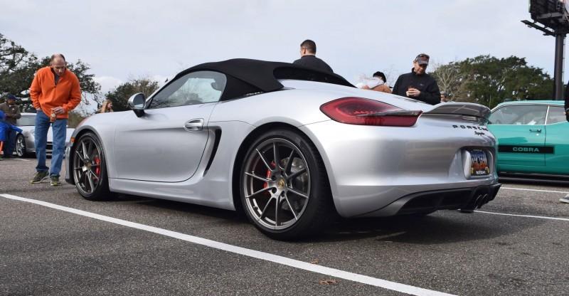 2016 Porsche Boxster SPYDER Silver 60