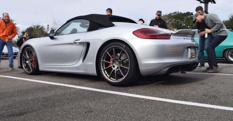 2016 Porsche Boxster SPYDER Silver 62