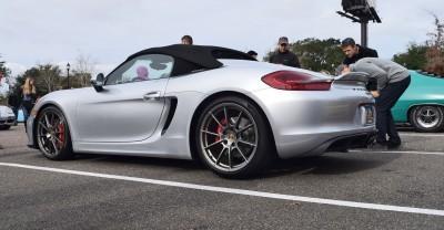 2016 Porsche Boxster SPYDER Silver 64