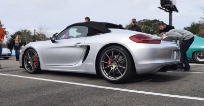2016 Porsche Boxster SPYDER Silver 65
