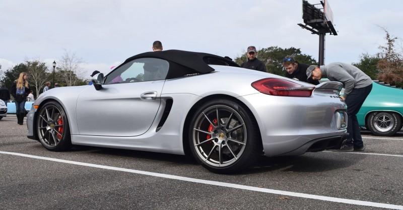 2016 Porsche Boxster SPYDER Silver 66