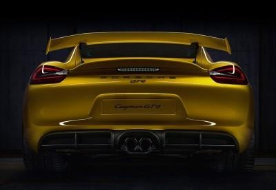 2016 Porsche CAYMAN GT4 1