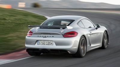 2016 Porsche CAYMAN GT4 19