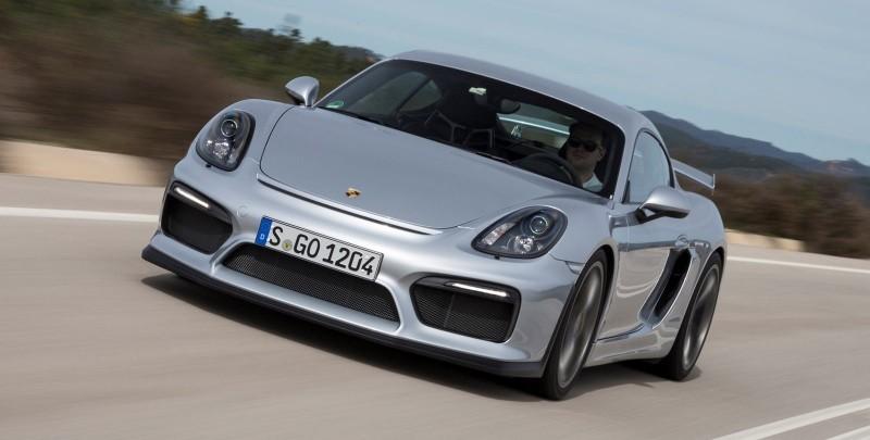 2016 Porsche CAYMAN GT4 26