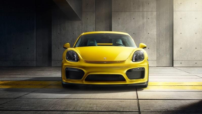 2016 Porsche CAYMAN GT4 38
