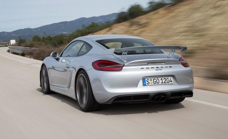 2016 Porsche CAYMAN GT4 6