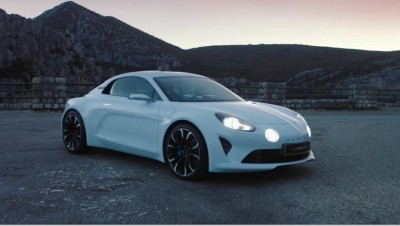 2016 Renault ALPINE Vision Concept - Video Stills 49