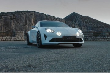 2016 ALPINE Vision Concept – 99% Production-Ready with Stunning Beauty, Race Dynamics
