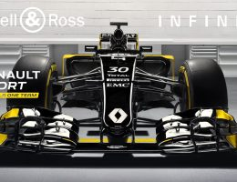 RENAULT SPORT Signs INFINITI and Bell & Ross for 2016 F1 Reboot