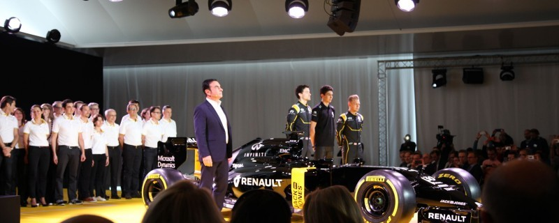 2016 Renault Sport Formula One Team 6