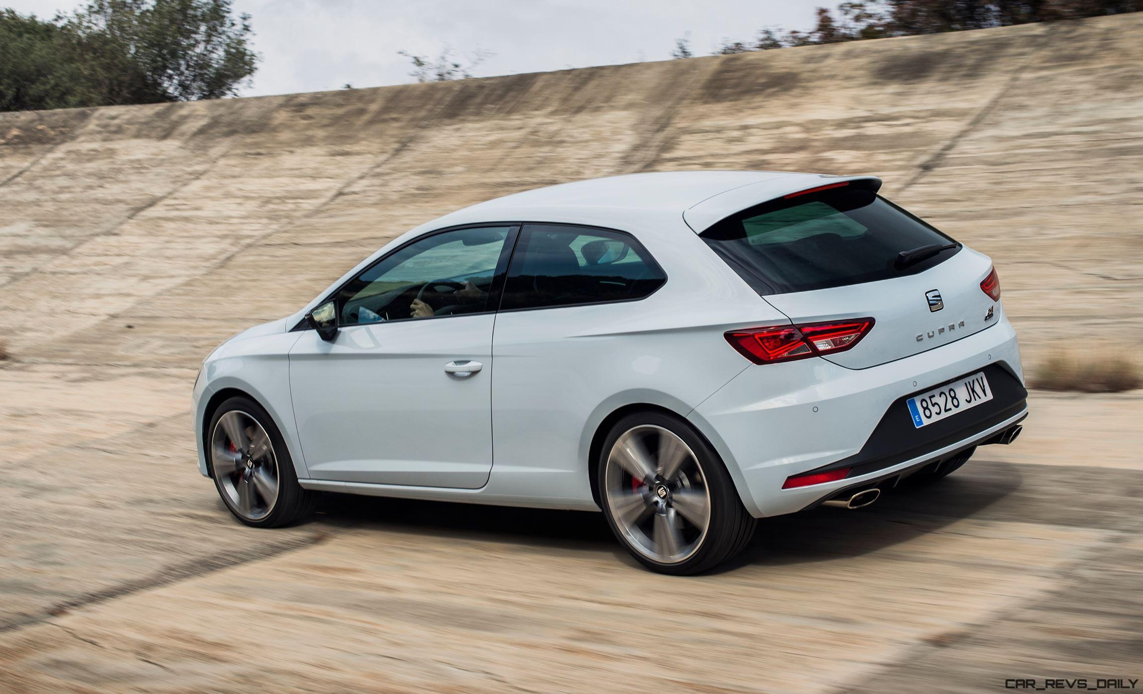 2016 seat leon cupra 290 gti beating coupe hatch and. Black Bedroom Furniture Sets. Home Design Ideas