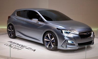 2016 Subaru IMPREZA 5-DOOR CONCEPT 2