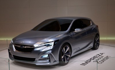 2016 Subaru IMPREZA 5-DOOR CONCEPT 5