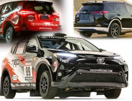 2016 Toyota RAV4 SE Launches Silver-Accented Style, New RALLY RACECAR!