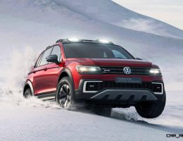 2016 Volkswagen Tiguan GTE Active Concept – 7-Seat Option + 20 EV Miles for 2017 USA Arrival