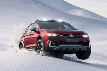 2016 Volkswagen Tiguan GTE Active Concept - 7-Seat Option + 20 EV Miles for 2017 USA Arrival