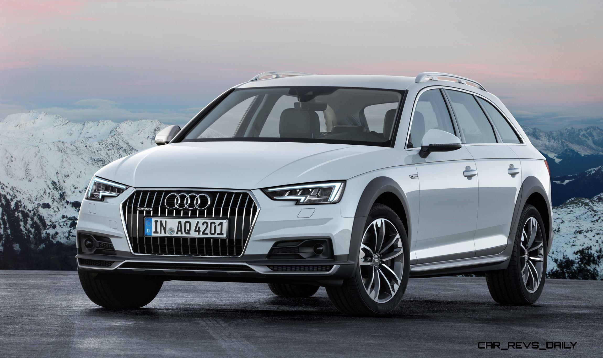 2017 audi a4 allroad 50k ski wagon set for fall 2016 usa arrival blah exterior but hoorah. Black Bedroom Furniture Sets. Home Design Ideas