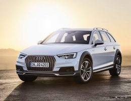 2017 Audi A4 Allroad – $50k Ski Wagon Set for Fall 2016 USA Arrival – Blah Exterior, but Hoorah Interior