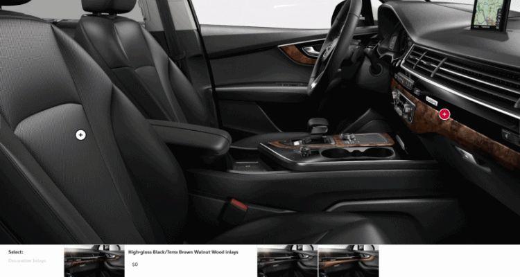 2017 Audi Q7 Cabins