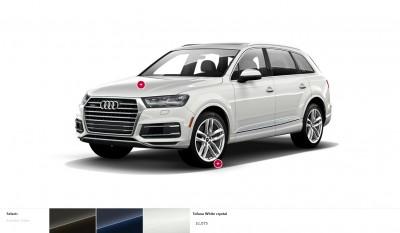 2017 Audi Q7 Colors, Wheels and Interiors 13