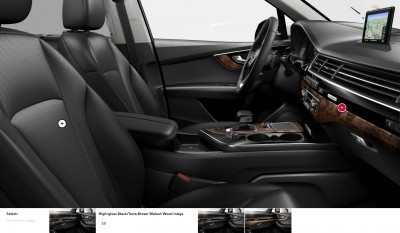 2017 Audi Q7 Colors, Wheels and Interiors 15