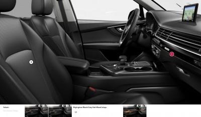 2017 Audi Q7 Colors, Wheels and Interiors 16