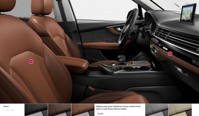 2017 Audi Q7 Colors, Wheels and Interiors 20