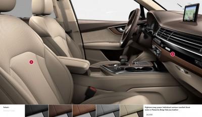 2017 Audi Q7 Colors, Wheels and Interiors 22