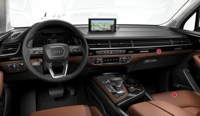 2018 audi q7 interior. Simple 2018 Audi Q7 Cabins Cockpit In 2018 Audi Q7 Interior