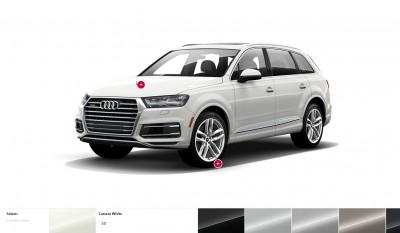 2017 Audi Q7 Colors, Wheels and Interiors 3