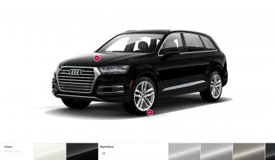 2017 Audi Q7 Colors, Wheels and Interiors 4