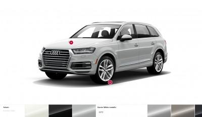 2017 Audi Q7 Colors, Wheels and Interiors 5