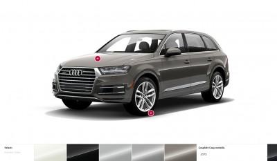 2017 Audi Q7 Colors, Wheels and Interiors 7