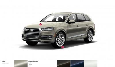 2017 Audi Q7 Colors, Wheels and Interiors 9