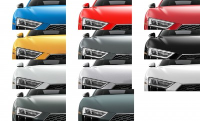 2017 Audi R8 Colors 3-tile